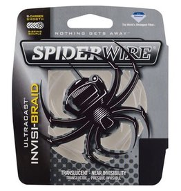 Spiderwire Spiderwire SCUC20IB-125 Ultracast Invisi-Braid Line 20/6Lb/Dia 125yd