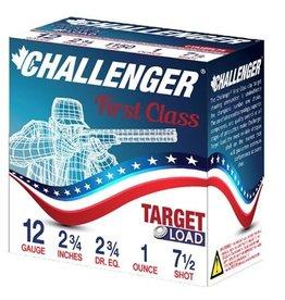 Challenger Challenger Ammo 40007 Light Load 4000 Shotshell 12 GA, 2-3/4 in, No. 7-1/2, 1 oz, 2-3/4 Dr, 1200 fps, 25 Rnd per Box