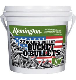 REMINGTON AMMUNITION Bucket O'Bullets 22 Golden Bullet 1400Ct