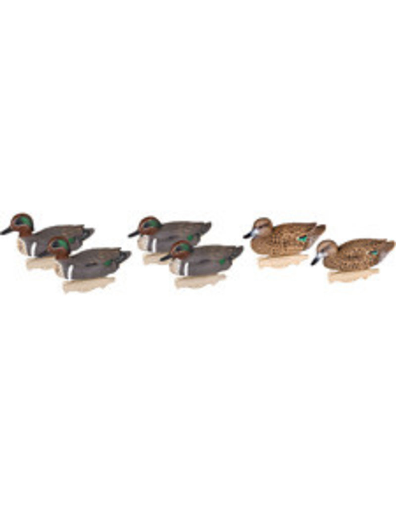 Flambeau Outdoors Flambeau Classic Decoy Green Winged Teal 6/Pk