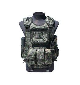 Gen X Global Gen X Tactical Paintball Vest (Digital Green)