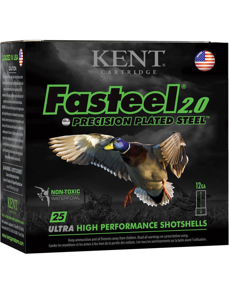 """Kent Cartridge Kent Fasteel 2.0 12Ga, 3"""" #3 shot 1 1/4oz 1500FPS"""