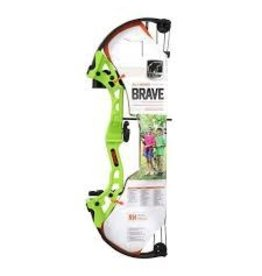 Bear Archery Bear Archery Brave Flo Green Bow Set w/ Biscuit