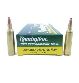 Remington Remington High Performance Rifle 22-250 55gr PSP