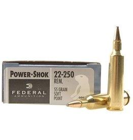 Federal Federal 22-250 55gr Soft Point