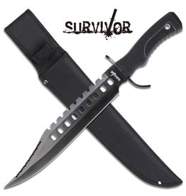 "Survivor SURVIVOR HK-2232B FIXED BLADE KNIFE 17"" OVERALL"