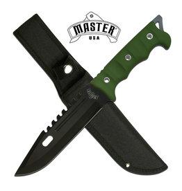 Master USA MASTER USA MU-20-02GN FIXED BLADE KNIFE