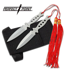 """Perfect Point PERFECT POINT 90-15 THROWING KNIFE SET 5.25"""" OVERALL"""