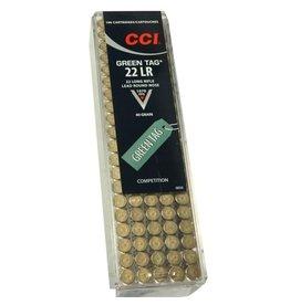 CCI Ammunition GREEN TAG 22LR 40GR LRN 100RD/BX
