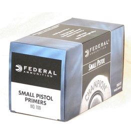 Federal Ammunition Federal Small Pistol Primer No. 100 - Case of 1000