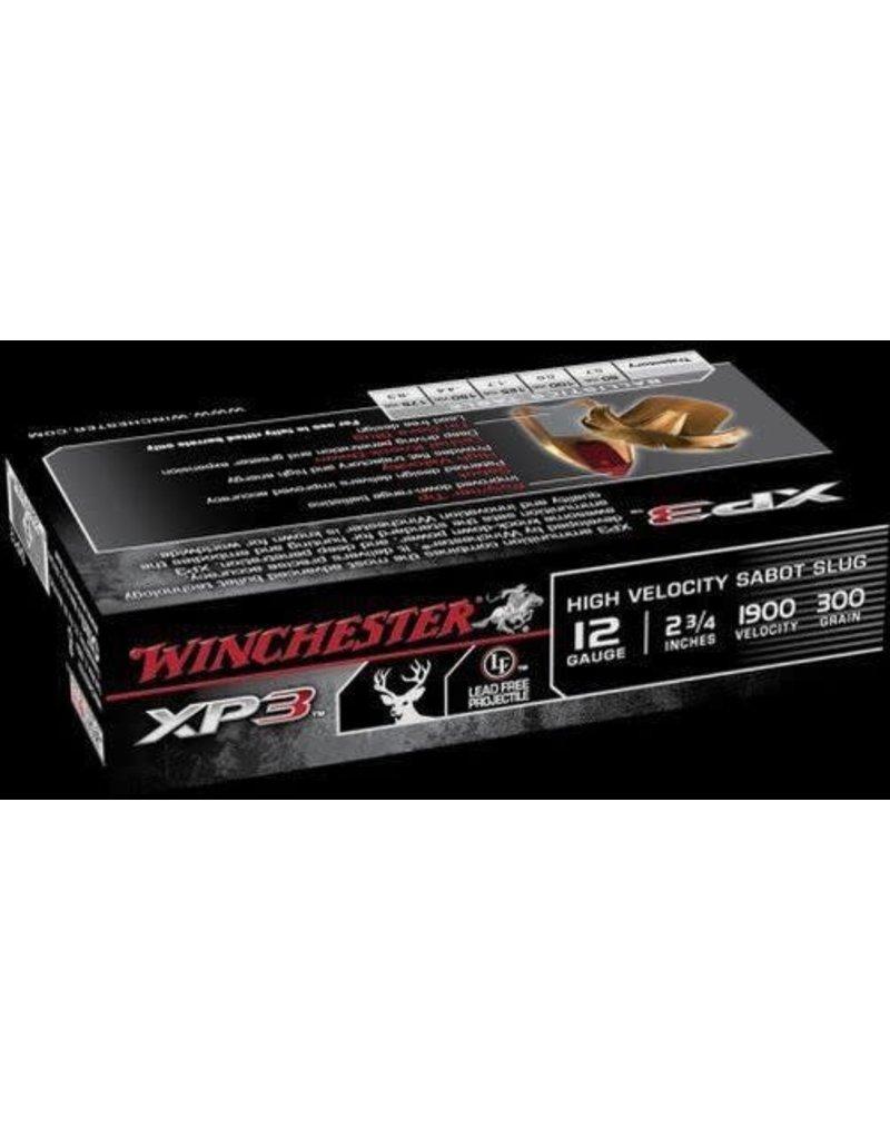Winchester Winchester SXP12 Supreme Elite XP3 Sabot Slugs 12 GA, 2-3/4 in, 11/16