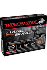 Winchester Winchester SSDB203 Elite Dual Bond Sabot Slugs 20 GA, 3 in, 19/32 oz