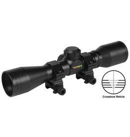 Truglo TruGlo Crossbow Scope 4x32 Black with Rings