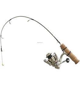 13 Fishing 13 Fishing - Microtec Panfish Ice Combo 24 Ultra Light - Titanium Spring Bobber