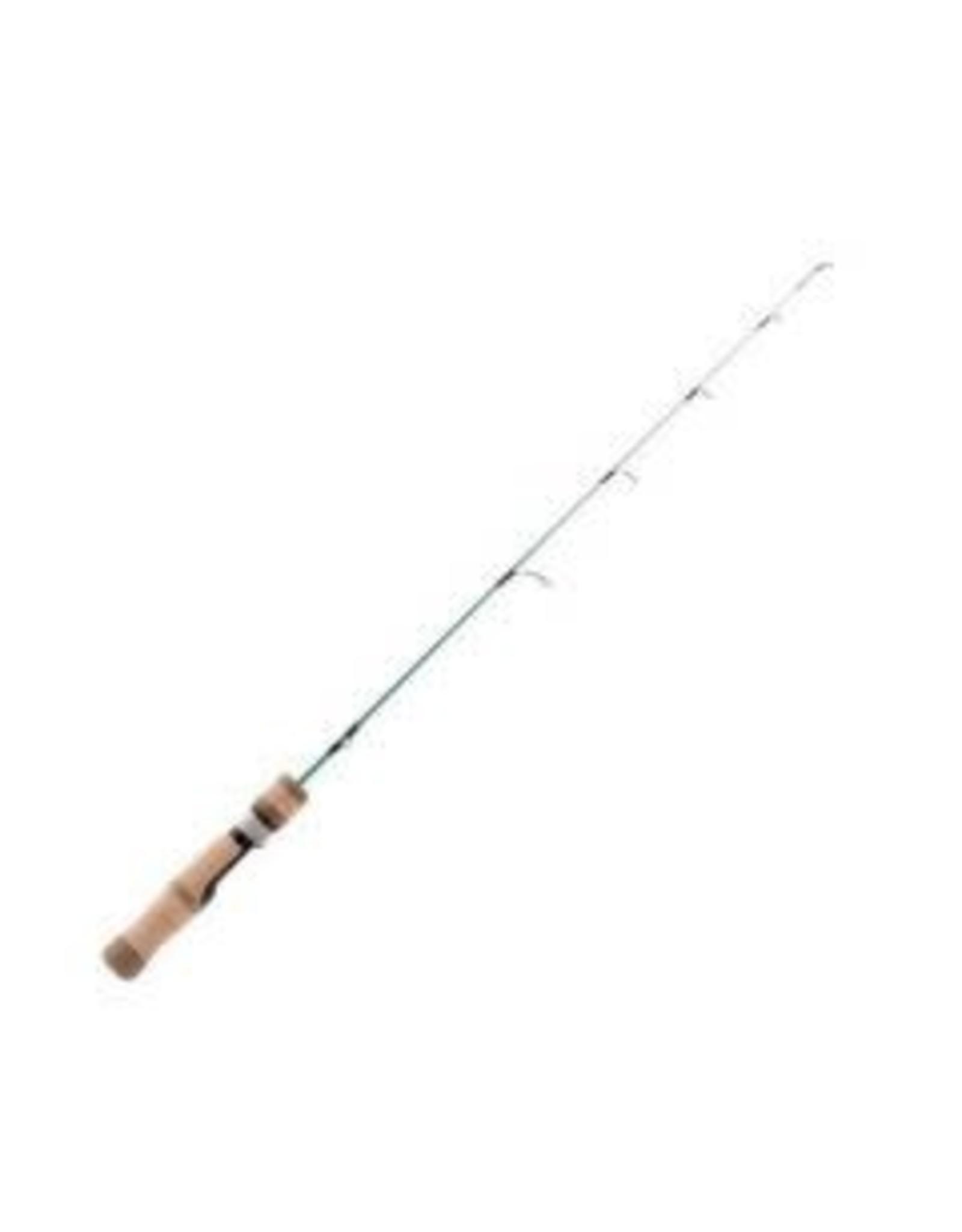 """13 Fishing 13 Fishing - White Noise Ice Rod Light 25"""""""