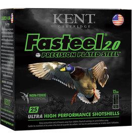 """Kent Cartridge 12GA Kent Fasteel 2.0  2 3/4"""" 1 1/4oz #2"""