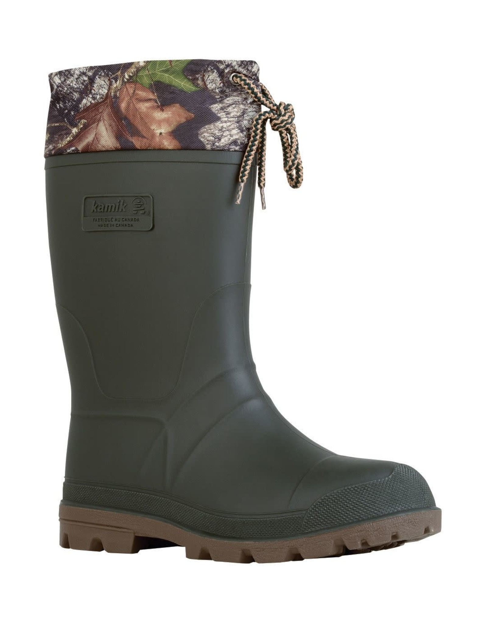 Kamik Kamik Icebreaker - Lined Boots - Camo - Size 7