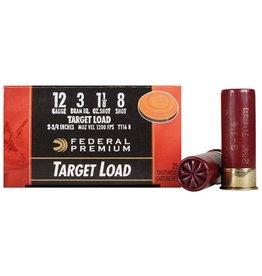 """Challenger Challenger 12GA 2.75"""" #8  Target Load 1 1/8oz - 25ct"""