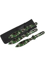 China Made Throwing Knife Set Camo
