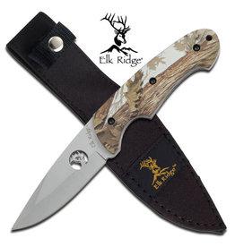 "Elk Ridge Elk Ridge ER-046CA FIXED BLADE KNIFE 8.5"" OVERALL"