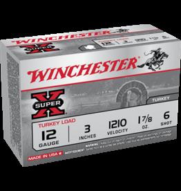 """Winchester WINCHESTER SUPER X 12 GAUGE 3"""" #6 1.7/8 OZ TURKEY LOAD"""