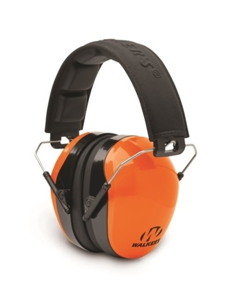 Walkers Walker's Advanced Protection NRR 26db Passive Folding Muffs