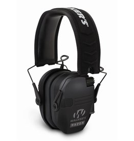 Walkers Walkers Razor Slim Shooter Folding Electronic Ear Muff Low Profile HD Sound Black