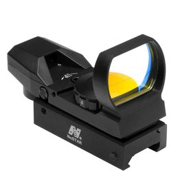 NcSTAR NcStar RED DOT REFLEX SIGHT /4 DIFFERENT RETICLES/WEAVER BASE/BLACK