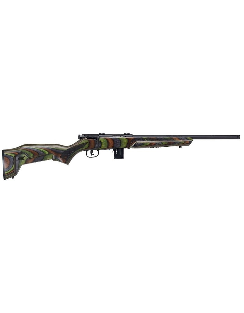 "Savage Arms Savage 93R17 Minimalist (Green) 17HMR 18"" BBL"