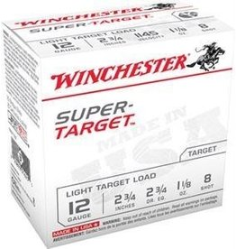 "Winchester Winchester Super Target 12GA 2.75"" 1.1/8oz 8 shot"