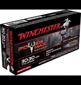 Winchester Winchester 30-30 WIN 170GR POWERMAX BONDED