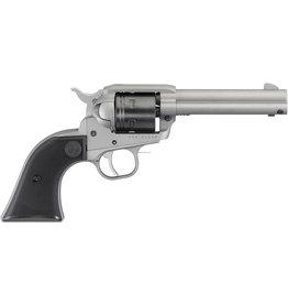 """Ruger Ruger 2003 Wrangler Single Action Revolver, 22 LR, 4.62"""" Bbl, Silver Cerakote, Black Cylinder, 6-Round"""