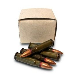Surplus Surplus 7.62x39mm 20 Rounds 123Gr FMJ Corrosive