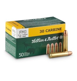 Sellier & Bellot Sellier and Bellot 30 Carbine 110Gr FMJ