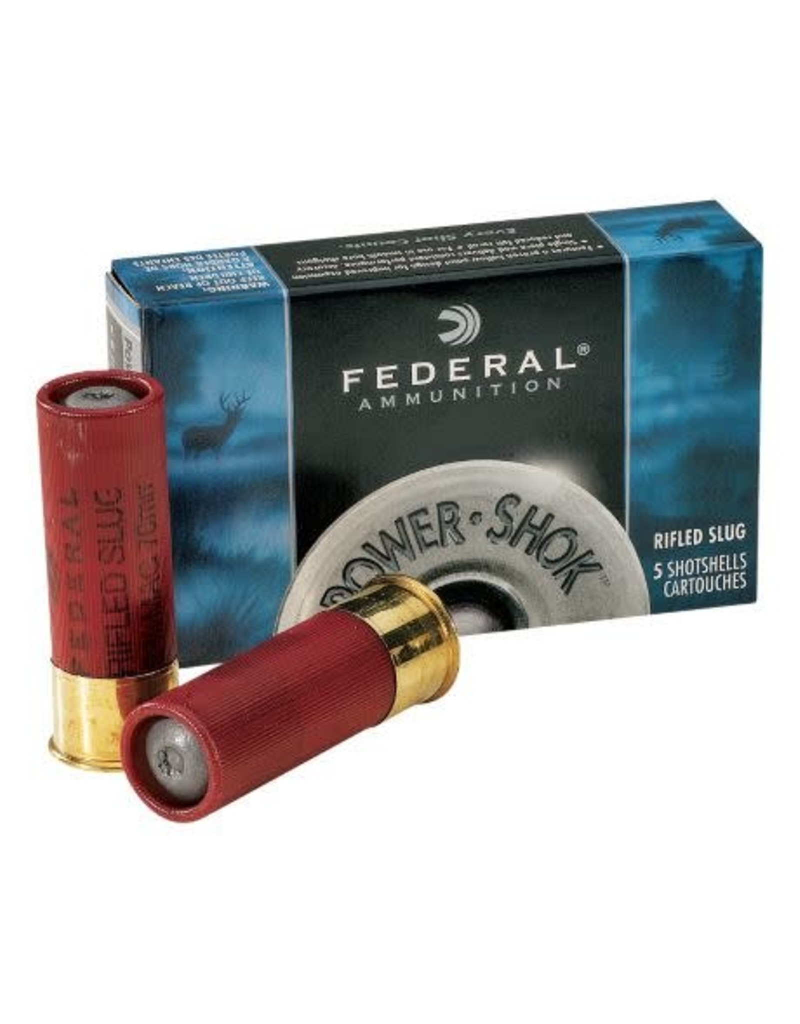 "Federal Federal Power Shok 410GA Maximum Rifled Slug HP 2.5"" 1/4oz"