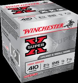 "Winchester Winchester Super X 410GA 2.5"" 7.5 Shot 1/2oz 1245fps"