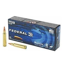 Federal Federal 223 REM  40gr w/ Hornady V-Max bullets Varmint & Predator
