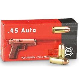 Geco Geco 45 ACP FMJ 230gr Pistol Ammo 50rds