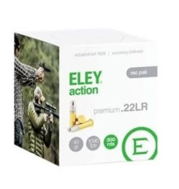 ELEY Eley Action- RecPK 22 LR Ammo 40Gr 300Rds/Pk