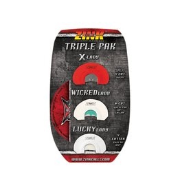 ZINK Zink Calls -  Mouth Call Triple Pak