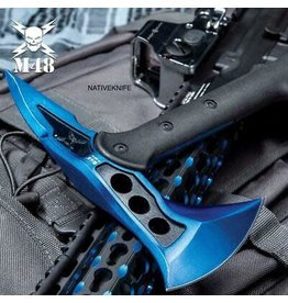 United Cutlery M48 Blue Tactical Tomahawk Axe with Snap-on Sheath