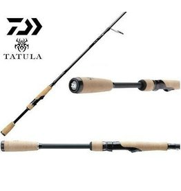 "Daiwa Daiwa Tatula Series Rod 7'3"" Med X Fast Action Spinning 1 pc, 3/16-1/2oz Lures, Line Weight 6-14"