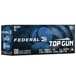 "Federal Federal Top Gun 12Ga 2.75"" 1 1/8 oz #8 Shot 100 ROUNDS"