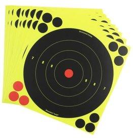 "Birchwood Casey Birchwood Casey Shoot-N-C 8"" - 30 Self Adhesive Targets with Repair Pasters"