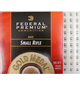 Federal Federal Small Rifle Gold Medal Match Primers 100ct