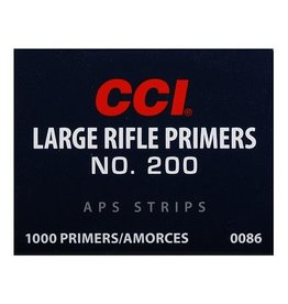 CCI CCI No. 200 Large Rifle Primers 100ct APS Strips