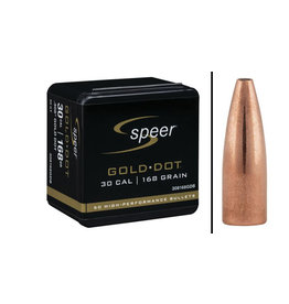"Speer Speer Gold Dot 30cal 168gr .308"" Bullets 50ct"