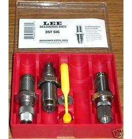 LEE PRECISION Lee 357 SIG Precision Reloading  Steel Die Set 90270