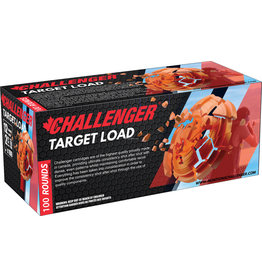Challenger Challenger Ammo 43028 Target Load 100 Round Pack, 12 GA, 2-3/4 in, No. 8, 3 Dram, 1-1/8 oz, 1200 Fps