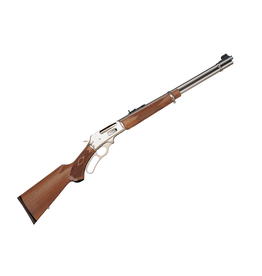 Marlin Marlin 336 STS Lever Action 30/30 Win - stainless steel - checkered walnut stock - 6 shot tubular magazine
